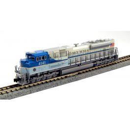 kato 176 8411 dcc n scale sd70ace w  tcs dcc  up george