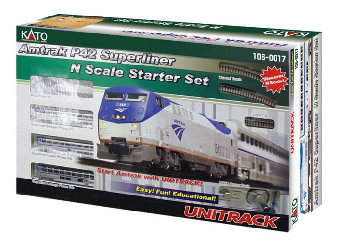 NEW 20-203 1 PC KATO N SCALE UNITRACK ELECTRIC TURNOUT #6 RIGHT