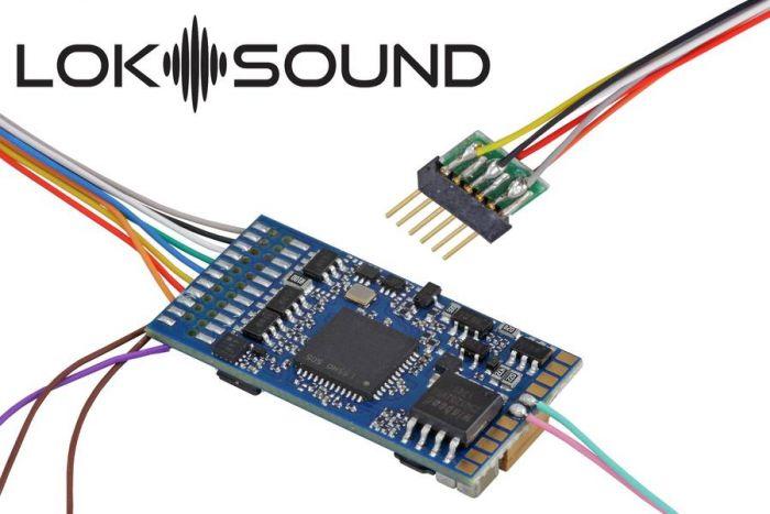 ESU 58416 LokSound V5 MM 6-Pin Sound Decoder, GE
