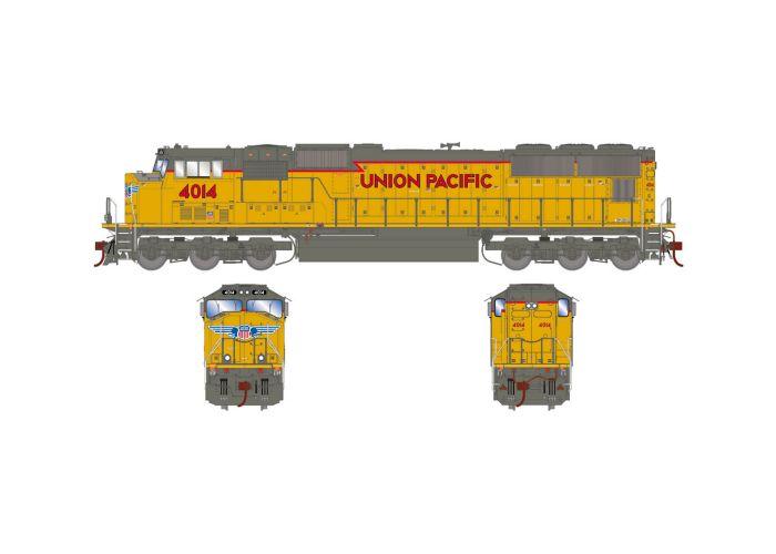 Athearn Genesis ATHG70525 HO EMD SD70M Standard DC Union Pacific 4014