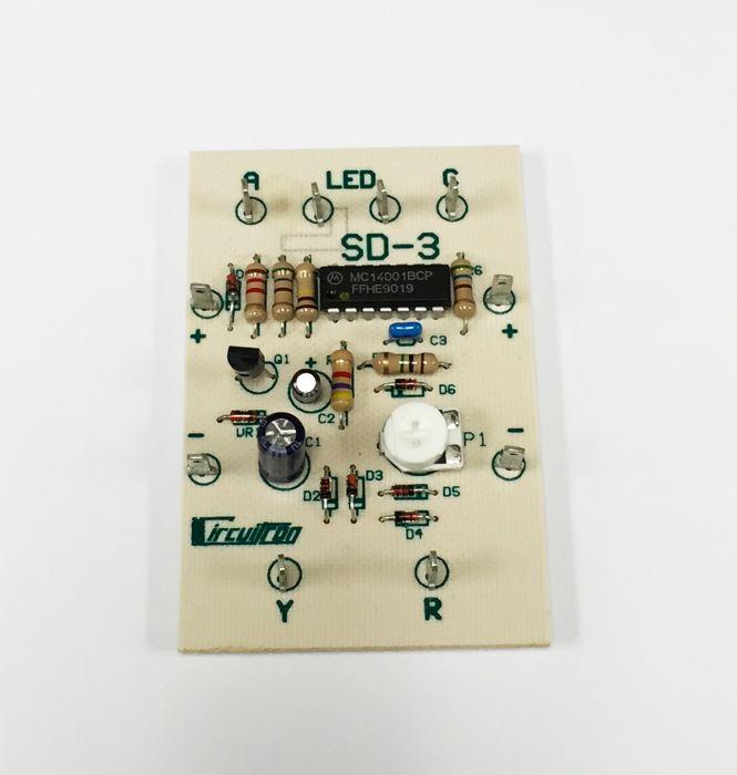 Circuitron SD-3 Signal Detector - 3 Aspect Bi-color LED
