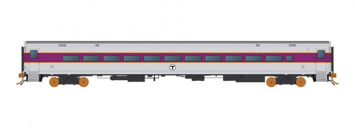 Rapido 128509 HO Scale Comet Coach, MBTA