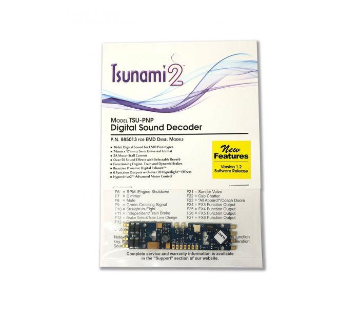 SoundTraxx Tsunami2, TSU-PNP, EMD-2 Diesel 885024 Digital Sound Decoder