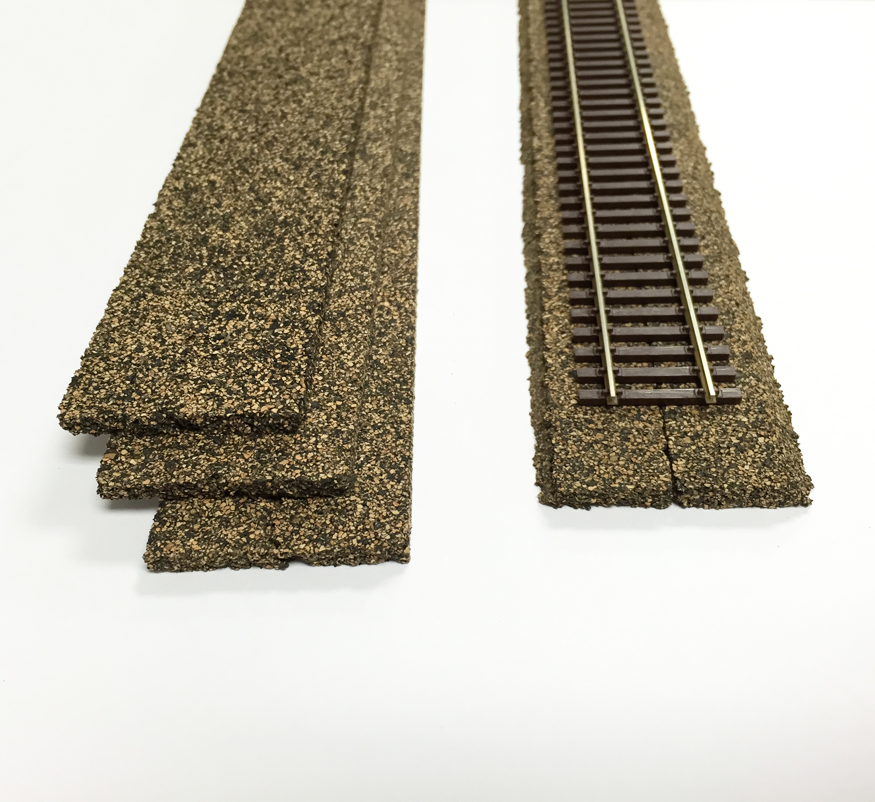 Ho scale cork roadbed