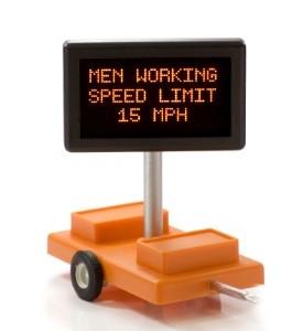 Men Working Speed Limit 15 MPH