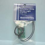 Miniatronics Simulated Strobe - White