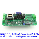 PSX1-AC Power Shield 3 & 2 Rail Intelligent Circuit Breaker