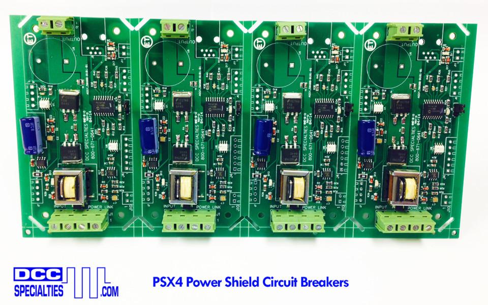 DCC Specialties PSX4 Circuit Breaker