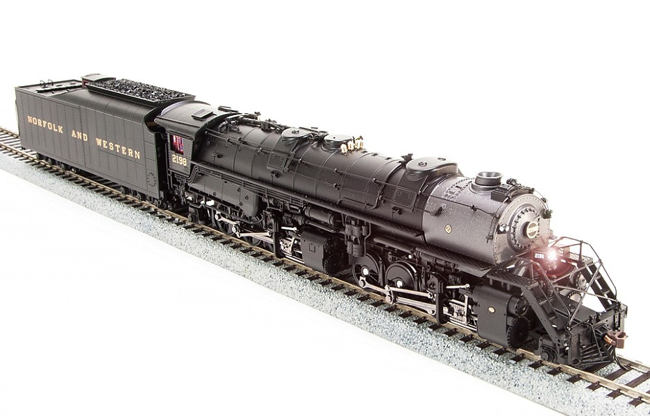 Broadway Limited Imports Die Cast HO N&W Y6B 2-8-8-2 With Paragon3 Sound