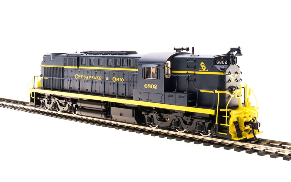 Broadway Limited Imports HO ALCo RSD-15 Locomotive