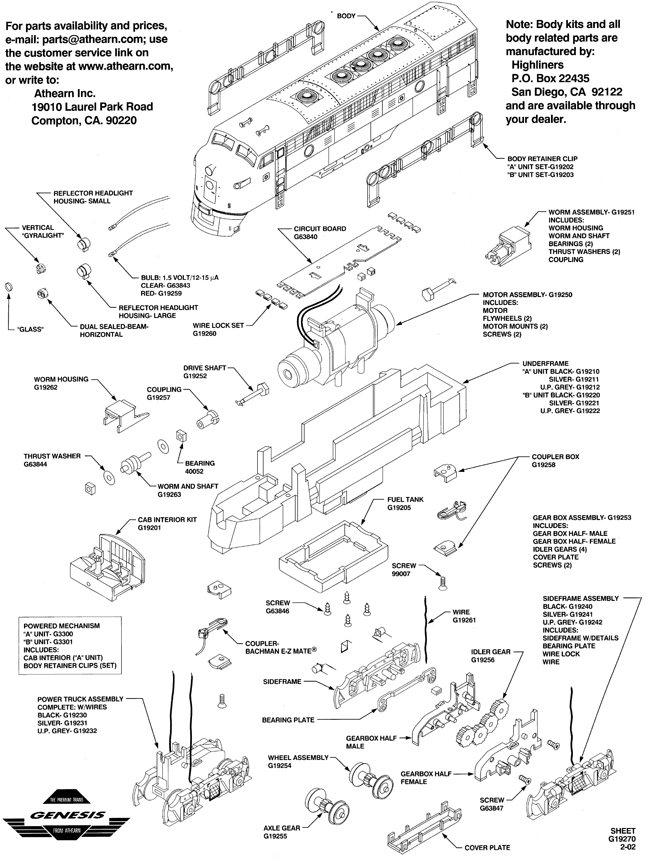 athearn genesis pickup problems fixed news resources Ho Model Railroad DCC Wiring genesis f7 diagram 001 001