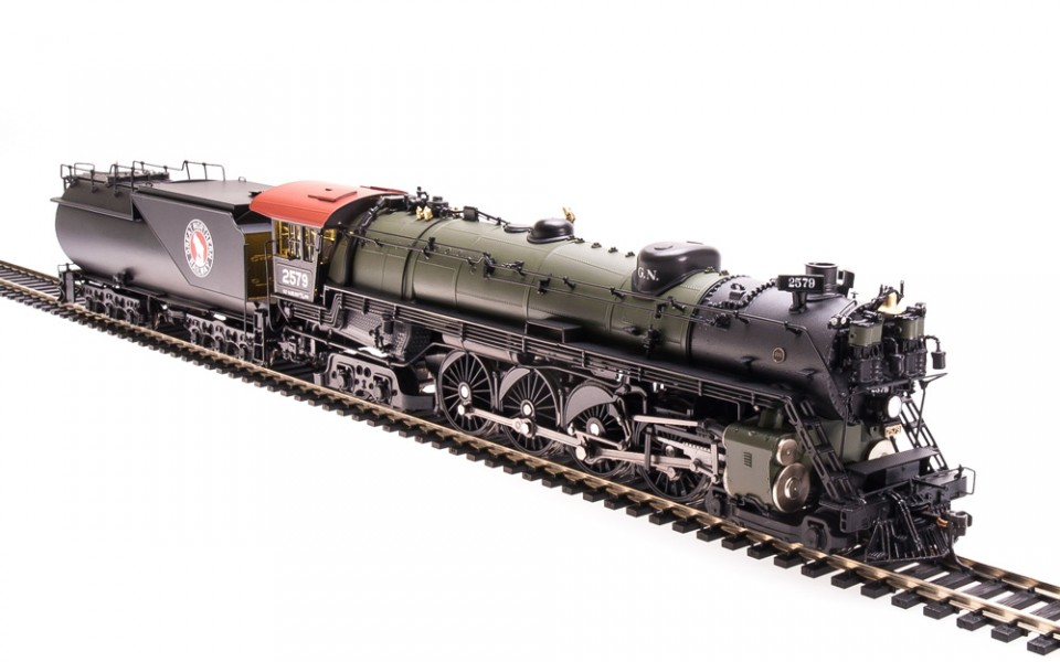 Broadway Limited Imports BLI Great Northern 4-8-4 S-2