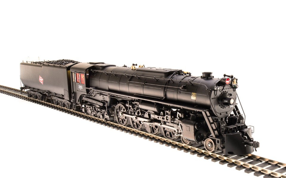 Broadway Limited Imports BLI-2594, HO Milwaukee S-3 4-8-4 w Paragon 3 Sound & DCC, #260