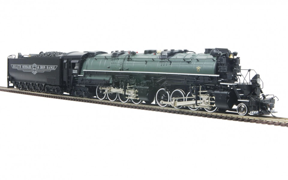 MTH HO Scale DMIR 2-8-8-4 Yellowstone With Proto-Sound 3.0