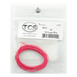 tcs_1197_10ft_30awg_red