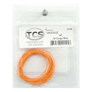 tcs_1198_10ft_30awg_orange