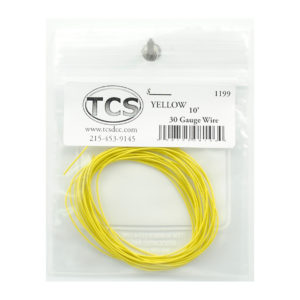 tcs_1199_10ft_30awg_yellow