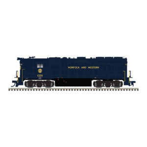 GP40 HH HO N&W Blue