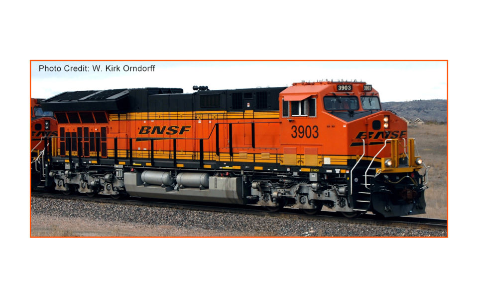Intermountain HO GE ET44C4 GEVO Tire 4, w ESU Loksound, BNSF #3888, 497101S-02