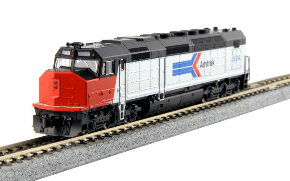 Kato 176-9201-LS, N Scale EMD SDP40F, w ESU LokSound, Amtrak Phase I #504