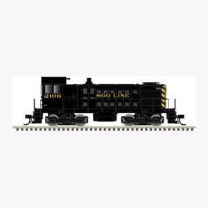 HO S-2 Soo Line 2103 & 2106