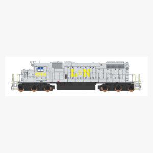 L&N SD38-2
