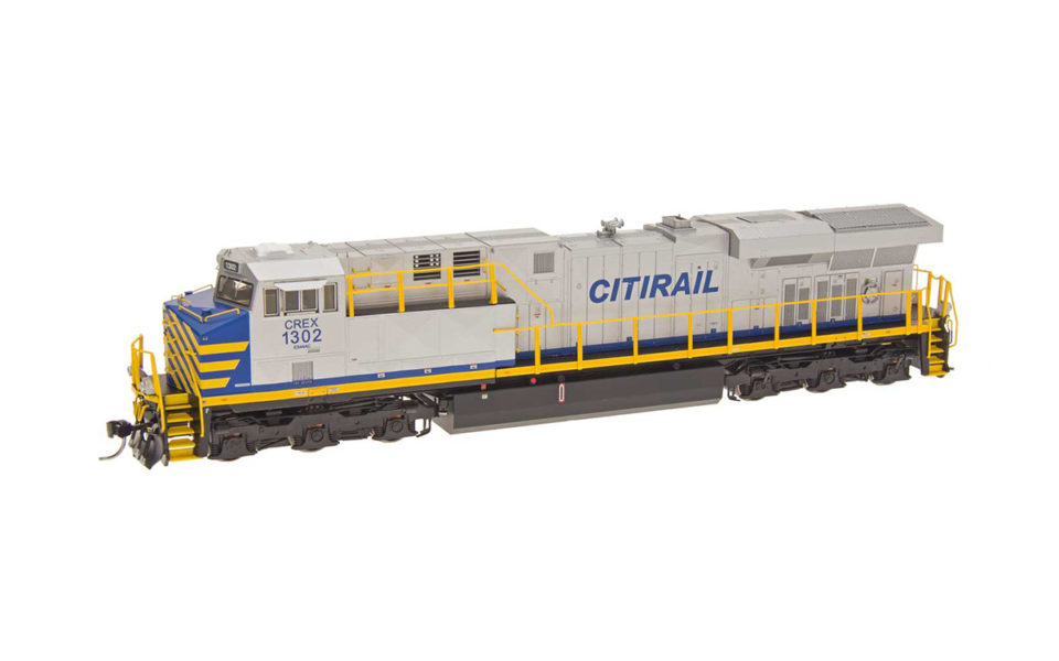 Intermountain HO GE ES44AC GEVO With ESU LokSound DCC, Citirail CREX #1302, 49745S-01