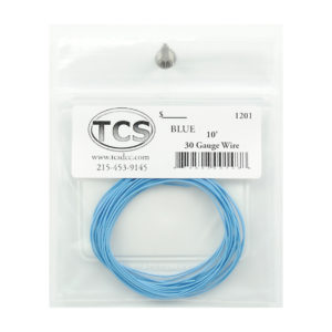 tcs_1201_10ft_30awg_blue
