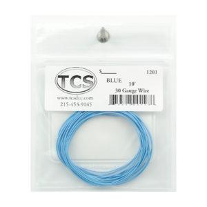 tcs_1201_10ft_30awg_blue