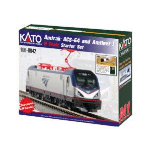 kato_amtrak_acs64_amfleet_set