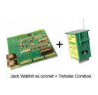 DCC Specialties Jack Wabbit™ with LocoNet, for Tortoise™ Combo, 12 Pack