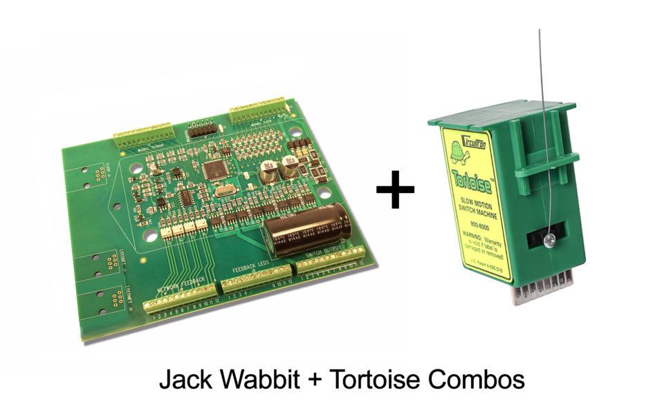 DCC Specialties Jack Wabbit™ – Tortoise™ Combo, 8 Pack