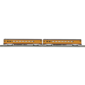 mth-80-60055-up-yellow-2-car-passenger-set