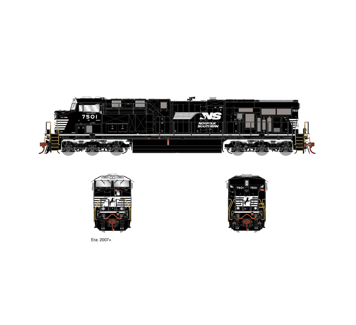 athearn-genesis-es44dc-ns-thoroughbred-7501