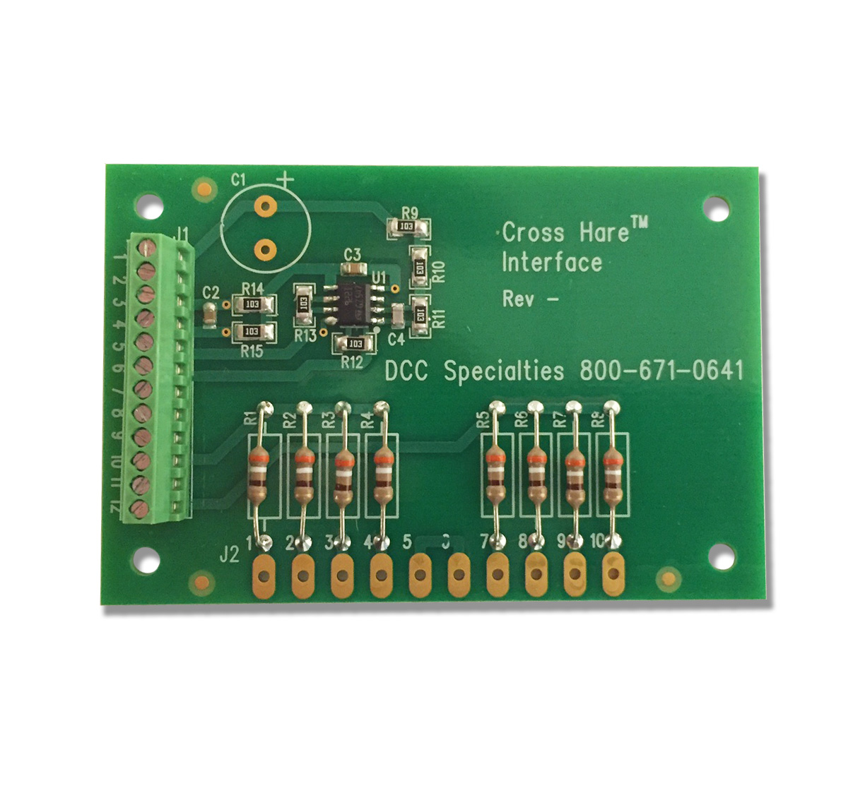 dsp_cross_hare_interface_board_chib
