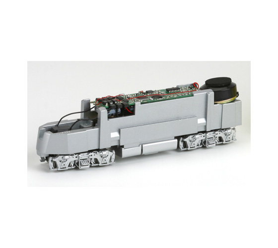 athearn_genesis_f-a_unit_powered_chassis_silver
