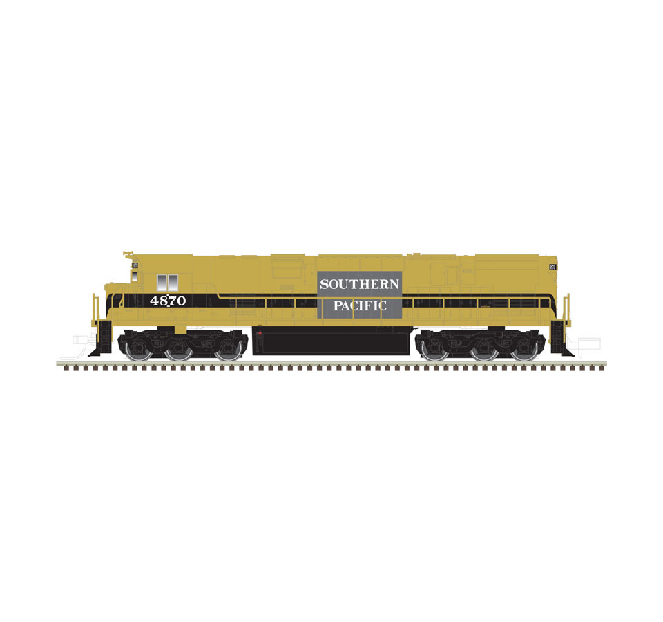 Atlas N 40003578, ALCo C-628 w ESU LokSound & DCC, SP Demo Patch #4871