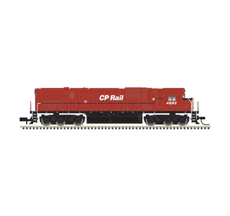 Atlas N 40003579, ALCo C-630 w ESU LokSound & DCC, CP Rail #4561
