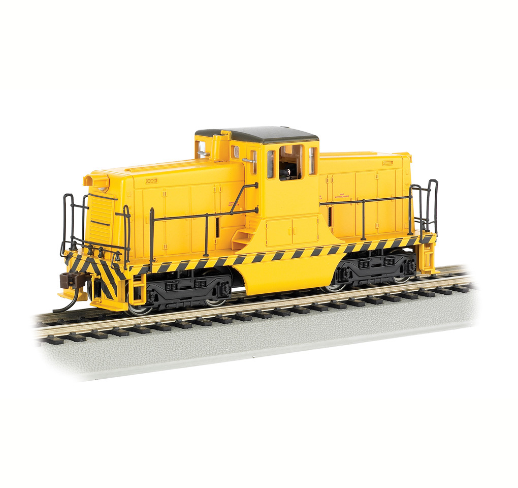 bachmann-62201-ge-44-ton-switcher-yellow-unlettered