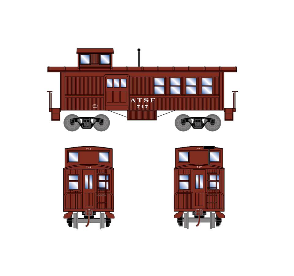 athearn-drovers-caboose-atsf-747