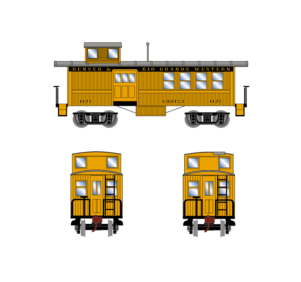 athearn-drovers-caboose-drgw-1427