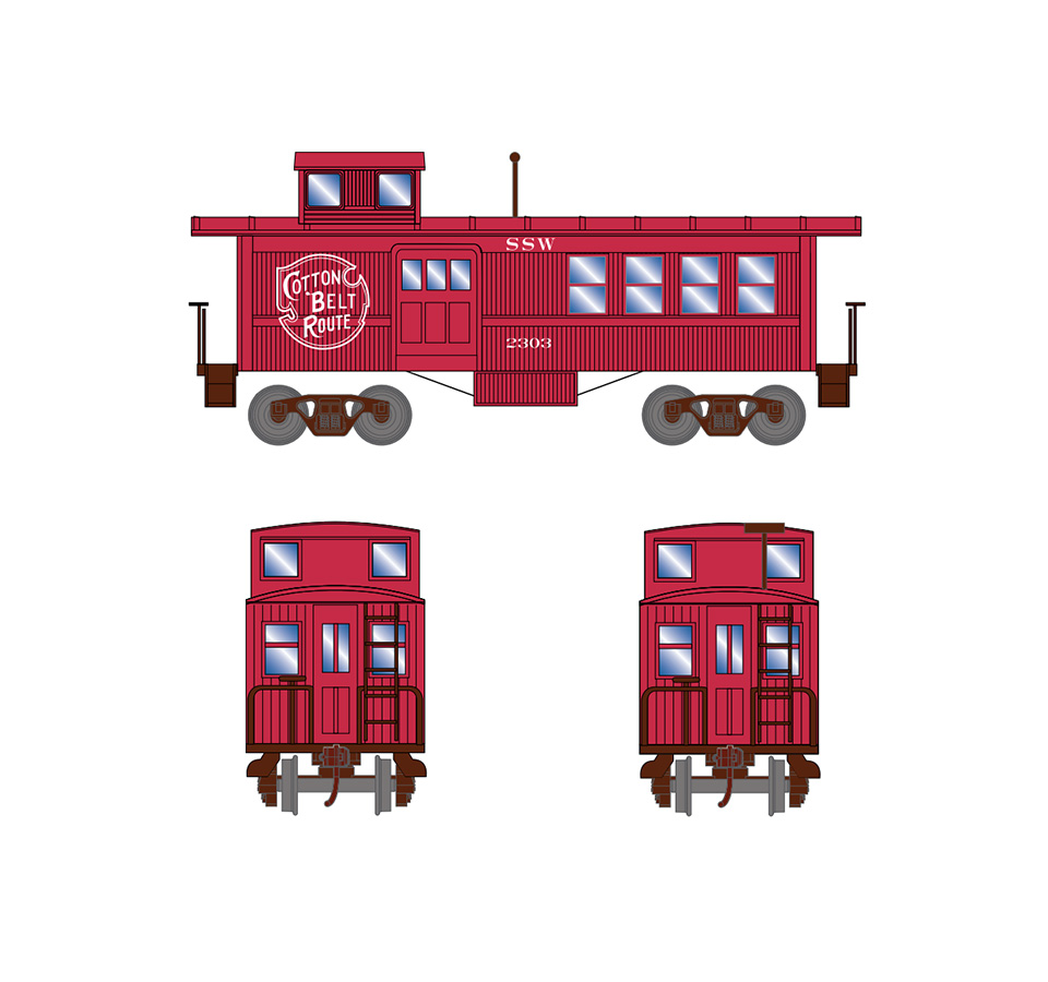 athearn-drovers-caboose-ssw-2303