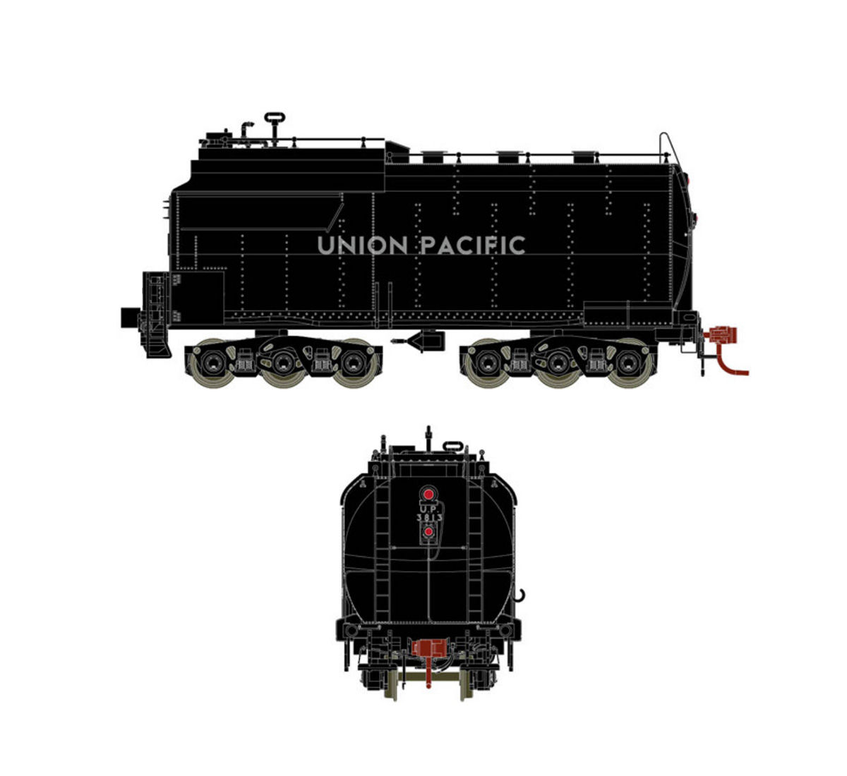 athearn-genesis-up-early-challenger-oil-tender-black