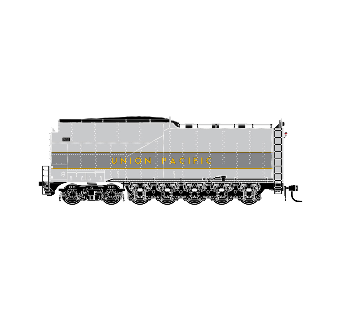 athearn-genesis-up-late-challenger-coal-tender-yellow