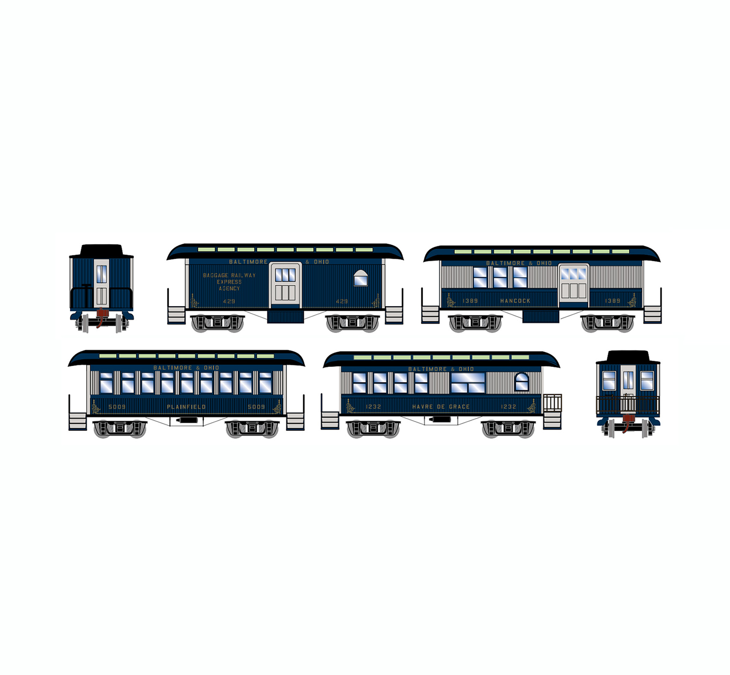 athearn-old-time-overton-4-car-set-bo