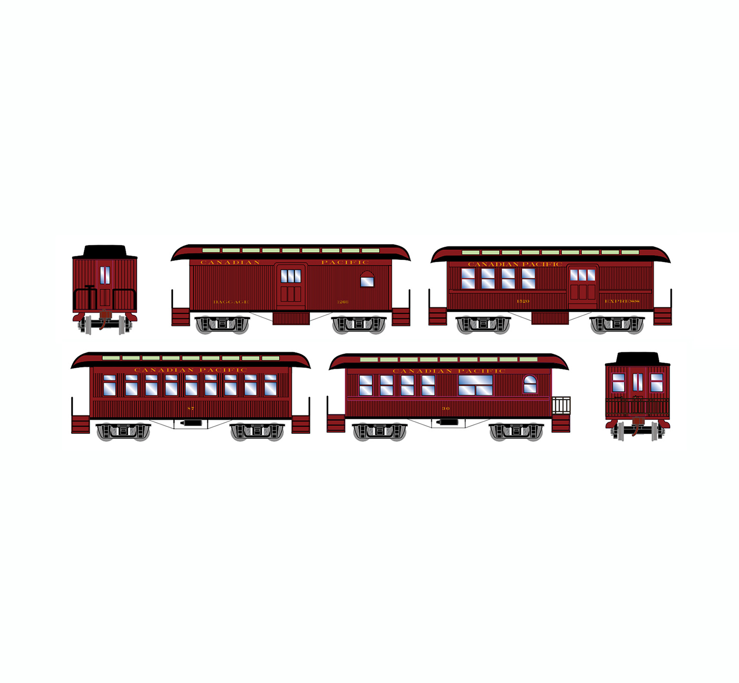 athearn-old-time-overton-4-car-set-cp