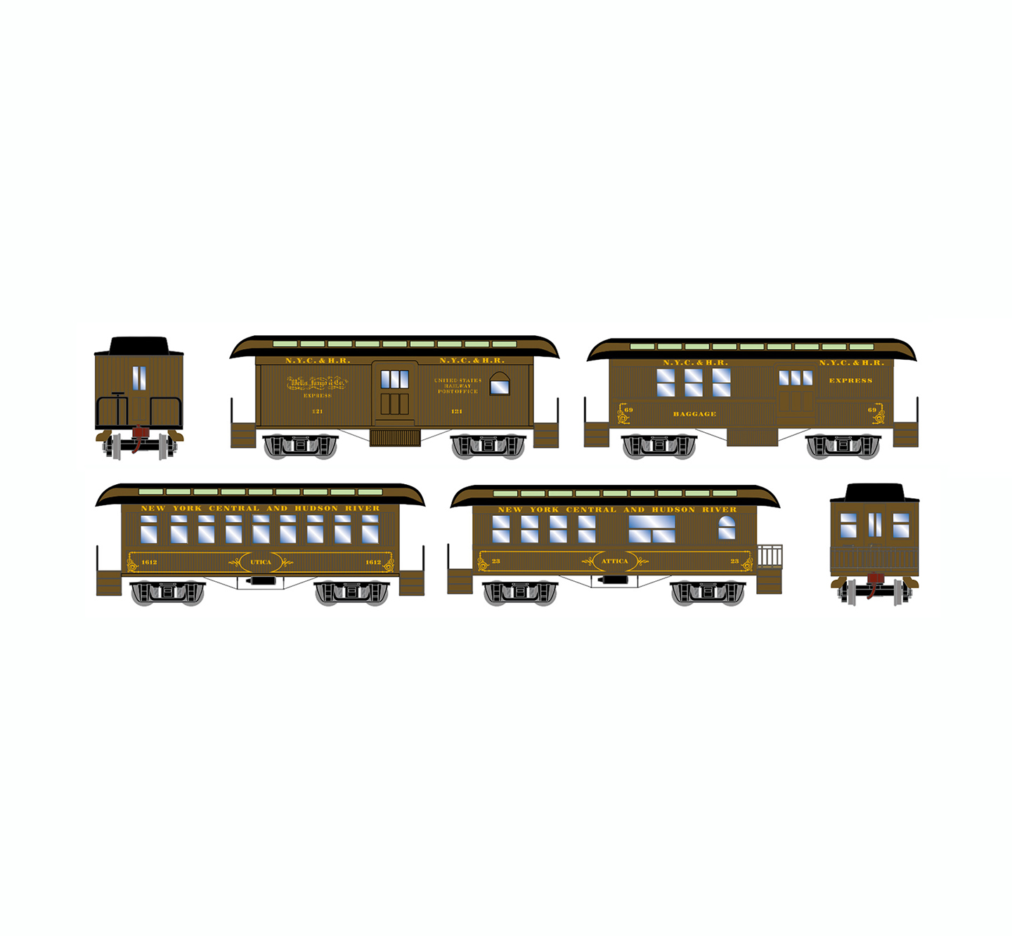 athearn-old-time-overton-4-car-set-nyc
