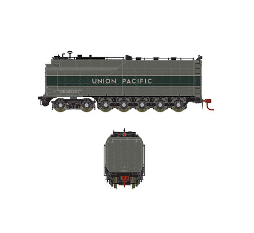 Athearn Genesis HO UP Late Challenger 4-6-6-4 Oil Tender, ATHG16001
