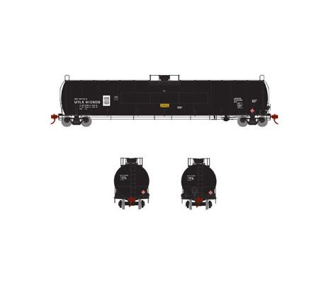 athearn_genesis_lpg_tank_car_utlx_flat_panel_grey_910608