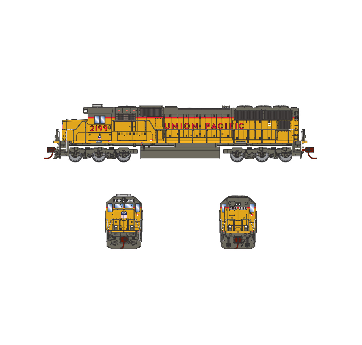 athearn_n_emd_sd70_up_2199